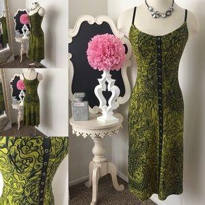 🌺 Betsey Johnson  Gorgeous Print Dress